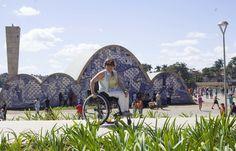 Pampulha, Belo Horizonte, MG, Patrimônio da Humanidade. Como é a acessibilidade ?  http://cadeiravoadora.com.br/igreja-de-sao-francisco-de-assis-pampulha-bh/