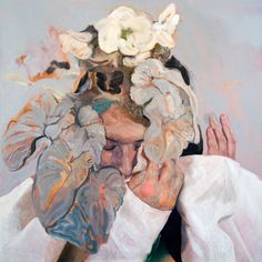 """Saatchi Art Artist Winston Chmielinski; Painting, """"SOLD A Growth Which Was Seeded in a Gesture"""" #art"""