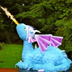 How To Make a Fire Breathing Dragon Cake @keyingredient #cake #recipes #easy…                                                                                                                                                                                 More