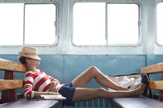 Nap on a ferry.