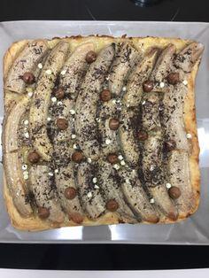 FRANCE CUISINE CHIC recettes de cuisine: Tarte feuilletée banane, sauce aux 3 chocolats et ...