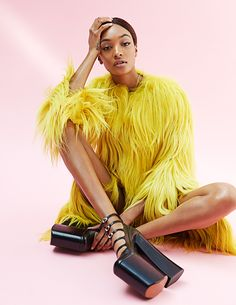 Smile: Jourdan Dunn in Madame Figaro August 26th, 2016 by David Roemer