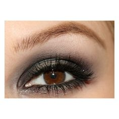 gunmetal grey eye shadow
