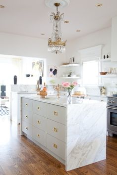 Marble Home Decor + Accents we love: http://www.stylemepretty.com/living/2015/11/10/trending-chic-marble-accents-for-your-home-beyond/