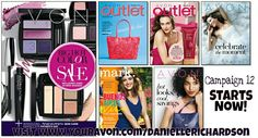 Campaign 12 starts now tons of great products on sale. Order online today www.youravon.com/daniellerichardson