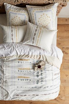 Brindisi Duvet - Full - $188.00 USD (Sold Out) - Pinned March 24 2016 - anthropologie.com