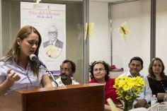 @usbcartagena realiza reconocimiento literario a #HortenciaNaizzaraRodríguez de #Unicartagena #CienciasSocialesyEducación