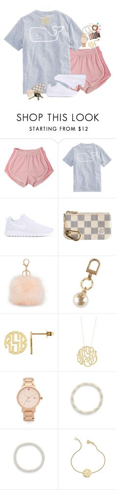 """summer's just around the corner"" by sydneylawsonn ❤ liked on Polyvore featuring Vineyard Vines, NIKE, Louis Vuitton, Avon, Aéropostale, Tory Burch, Ginette NY, Kate Spade, Urban Decay and Aid Through Trade"