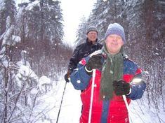 Vår Vegard, Downs, på ski. Har ikke sett ham gå på ski siden. Canada Goose Jackets, Winter Jackets, Winter Coats, Winter Vest Outfits