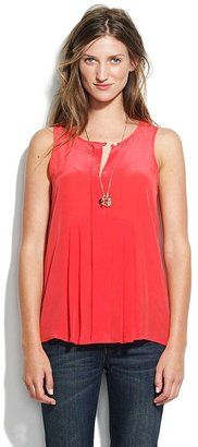 Madewell Pretty pleats tank - on sale for $49.99