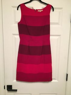 843eef895f5 Banana Republic Factory Red Stripe Dress - Size 4  fashion  clothing  shoes
