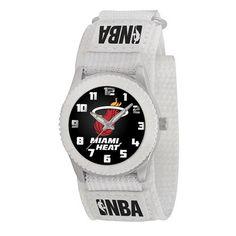 Miami Heat White Rookie Series Watch #nba #basketball #jewelry