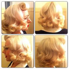 Pin Up Hair:: Vintage Hair:: Retro Hairstyles:: Vintage Beauty