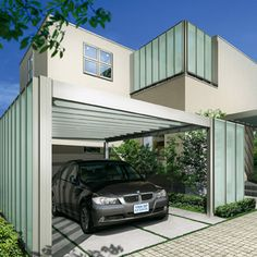 ルシアス シリーズ ウォール | YKK AP株式会社 Car Parking, Gate, Fence, Outdoor Decor, Home Decor, Entryway, Decoration Home, Portal, Room Decor