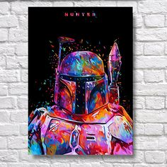 Abstract Star Wars Boba Fett Hunter POP-ART - Sci-fi Movie WPAP A4 Wall Art Prints Use Coupon Code : ONEFREE to save £5.95(one free print) when you spend over £17.50 in my store. effectively Buy 2 prints and get a 3rd FREE Item Description Surreal Wall Art Poster Prints. Quality and Details Paper: All posters are printed on Olmec(Innova) Photo Lustre 260gsm, instant dry, fade resistant microporous coated heavyweight RC paper. acid free and water resistant paper. This Paper...