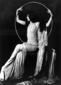 """Alfred Cheney Johnston and the Ziegfeld Hula Hoop Nudes Mystery"" -- by @Lara Eastburn, Hooposophy article"