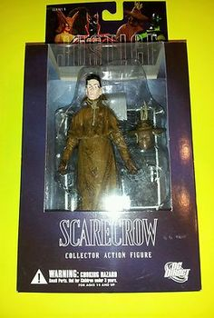 """DC Direct Justice League Scarecrow 6"""" Action Figure BY Alex Ross Series 6 NEW   eBay"""