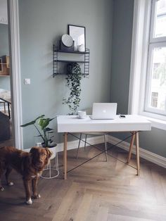 Home Office, Office Desk, Interior, Inspiration, Furniture, Home Decor, Biblical Inspiration, Desk Office, Decoration Home