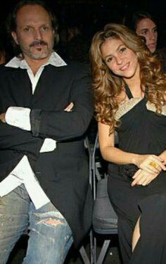 Miguel Bosé con Shakira