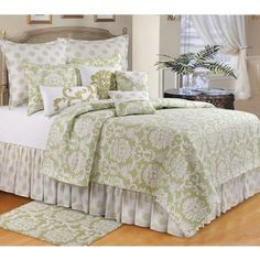 Shop for Providence Cucumber Quilt. Get free shipping at Overstock.com - Your Online Fashion Bedding Outlet Store! Get 5% in rewards with Club O!