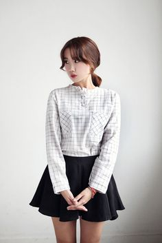 Wide Skirt Shorts