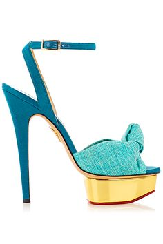 Charlotte Olympia  - Shoes - 2014 Spring-Summer | cynthia reccord