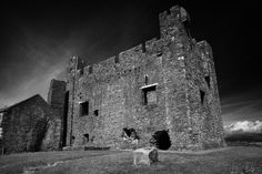 Another image of the 13th Century Greencastle Royal Castle Built By Hugh De Lacy, Carlingford Lough County Down, Ireland