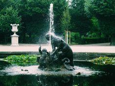 Fountain in Schönbrunn Garden Vienna #fountain #water #park #travel #garden #trees #green #vscocam #trip #landscape #view #photography #photo #travelgram #nikon #nikonphotography #vsco #35mm #nikond3100 #austria #vienna #österreich #europe #wien by photoljuc