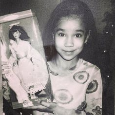 Throwback picture of Jhene Aiko!
