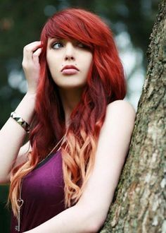 new red hair color trends