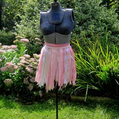 Pink Princess Skirt Child's Costume Ribbon by playnwithbeads, $20.00