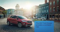 The #2017FordEscape from #Clarksville, IN carries more flair with a set of enhancements. A tougher opponent, this model is redesigned to go up against the likes of Hyundai Tucson, Honda CR-V, Kia Sportage, Mitsubishi Outlander Sport, and Toyota RAV4.