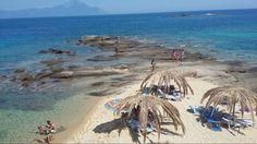 Tigania beach-Kalamitsi,Halkidiki-Greece Halkidiki Greece, Thessaloniki, Heaven On Earth, Macedonia, Tuscany, Spain, Places To Visit, Around The Worlds, Water