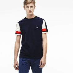 b16e64b51281db Men s  Made in France  Piqué T-Shirt. Lacoste T ShirtFranceClothing CompanyTee  ShirtsPolo ShirtFootwearFrench ...