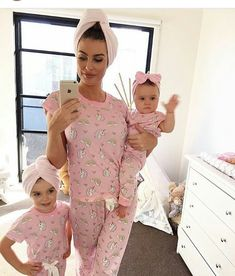 7dccfde9 105 Best Mom & Daughter matching outfits images | Mother daughters ...