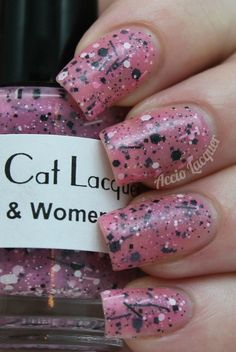 Accio Lacquer: Black Cat Lacquer Women & Women First