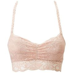 e8715229dfc Charlotte Russe Lace Longline Racerback Bralette ( 11) ❤ liked on Polyvore  featuring intimates