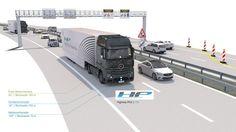 Mercedes-Benz Actros με Highway Pilot