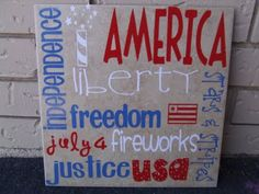 Keeping it Simple: Silhouette Saturday: of July Subway Tile, Tile Projects, Vinyl Projects, Craft Projects, 4th Of July Fireworks, Fourth Of July, Christmas Projects, Holiday Crafts, Holiday Ideas, Christmas Ideas