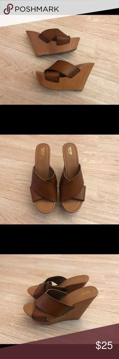 Wedge sandals NWOT Literally brand new wedge sandals , size 11, can ship asap Mossimo Supply Co Shoes Wedges