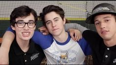 Set Life x The Outfield Emo Guys, Nash Grier, O2l, Magcon Boys, The Outfield, Cameron Dallas, Super Excited, Movies And Tv Shows, Youtubers