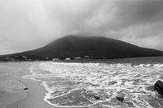 Slievemore from across Doogort strand