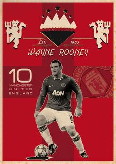 Rooney I am Number Ten, by Kareem Gouda Soccer #football