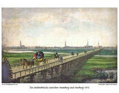Historische Ansichten Hamburgs zur Franzosenzeit