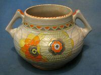 My Charlotte Rhead vase