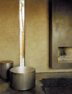 Studio KO - Villa D - Marrakech - ©Dan Glaser > Details in the living room