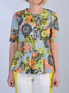 MSGM - Top liberty celeste | Di Pierro  http://www.dipierrobrandstore.it/product/1564/Top-liberty-celeste.html