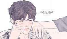 #seungcheol #s.coups #승철 #에스콥스 #seventeen #세븐틴 #kpop #fanart