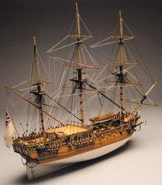 Ship model wooden kit Royal Caroline Mantua Panart ~START~