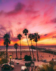 Manhattan Beach California By By Californiafeelingscom images ideas from Beautiful Beach Photos Beautiful Beach Pictures, Beach Photos, Beautiful Sunset, Beautiful Beaches, Beautiful World, Ocean Photos, Manhattan Beach California, California Surf, Southern California